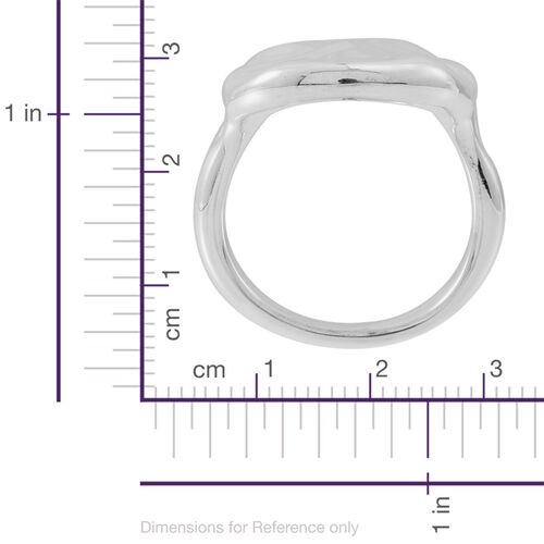 Statement Collection Sterling Silver Ring, Silver wt 5.20 Gms.