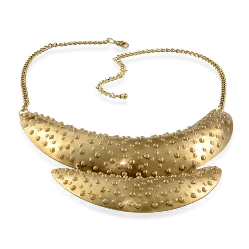 Fancy Choker Necklace (Size 21) in Yellow Gold Bond