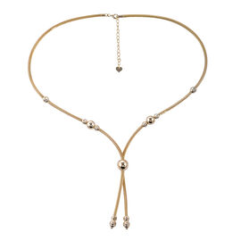 Royal Bali Collection- 9K Yellow Gold Necklace (Size 18 with 1.5 inch Extender), Gold wt 11.33 Gms