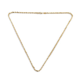 ILIANA Chian Necklace in 18K Gold 4.62 Grams 20 Inch