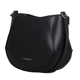 Bulaggi Collection - Kayla Crossbody Bag with Zipper Closure (Size 21x17x08cm) - Black