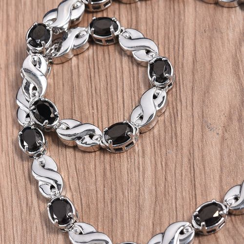 Elite Shungite Infinity Link Copper Necklace with Magnets (Size 18) in 950C Natural Copper 10.50 Ct.