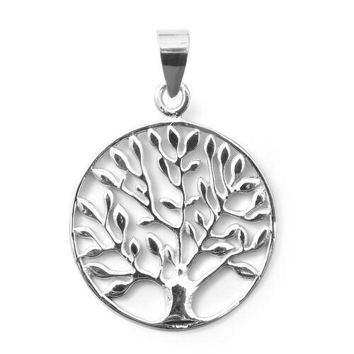 Designer Inspired- Sterling Silver Tree of Life Pendant
