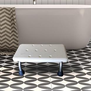 Mobility Shower Stool (Size 40.5x15x21.5cm) - White
