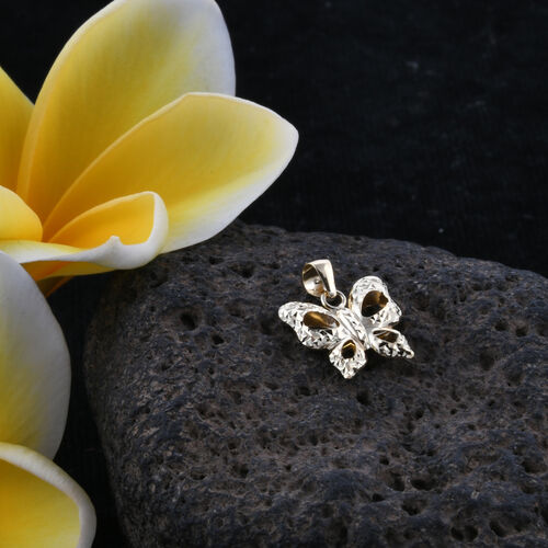 Royal Bali Collection 9K Yellow Gold Butterfly Pendant