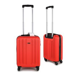 Close Out Deal- 21 Inch Carry On Luggage Lightweight ABS Shell 4 Wheel Spinner Suitcase - Red