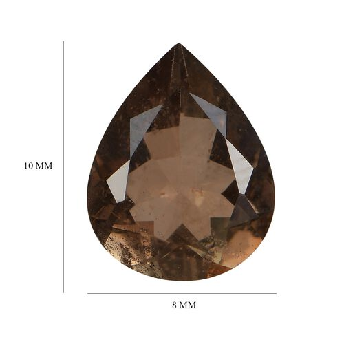 Andalusite Pear 10x8 Faceted 1A 2.27 Cts