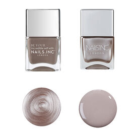 Nails Inc: Show Stopping Style and Porchester Square Foil (14ml Each)