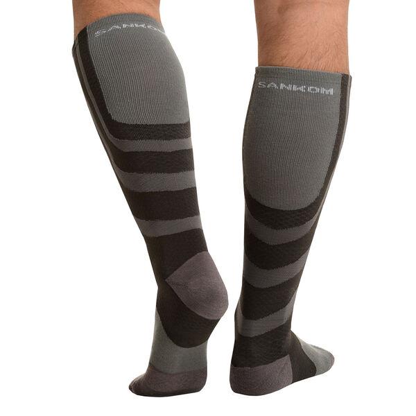 SANKOM SWITZERLAND Patent Socks - Grey (Size PLUS I / 3-5 UK)