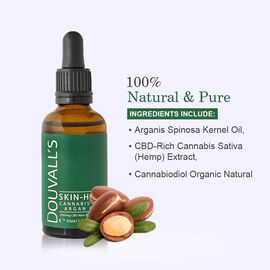 Douvalls: Skin High - Cannabis & Argan Oil - 50ml