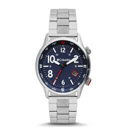 Columbia Outbacker Navy 3-Hand Date Stainless Steel Bracelet Watch
