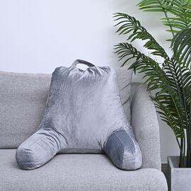 Ergonomic Reading Pillow (Size 48X38 cm)