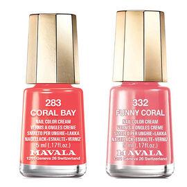 Mavala: Coral Bay 283 & Funny Coral 332