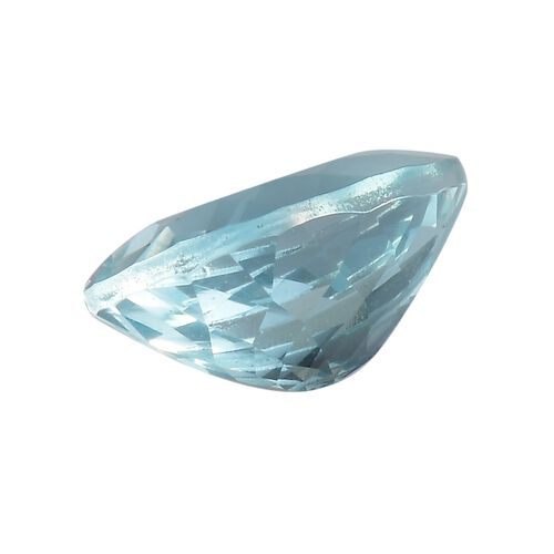 AAA Aquamarine Pear 12x8 Faceted 2.65 Cts