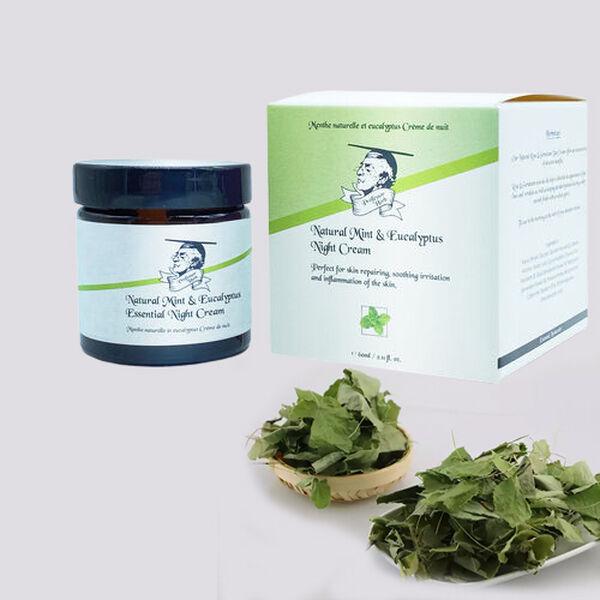Professor Herb: Mint & Euclyptus Night Moisturiser - 60ml