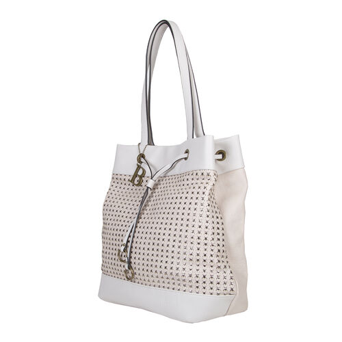 Bulaggi Collection Buffy Shopper Bag in Bone Colour