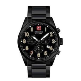 Swiss Military Hanowa Mens Sergeant Chrono Black Watch