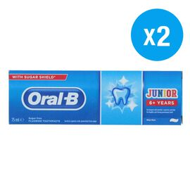 Oral B: Junior -  Toothpaste 75ml (Set of 2)