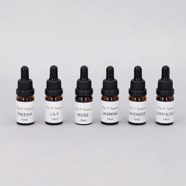 The 5th Season - Set of 6 Essential Oils Floral Set (Fragrance: Lavender, Rose, Jasmine, Freesia, Li