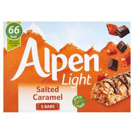 Alpen Light: Salted Caramel Cereal Bar - 5X19g