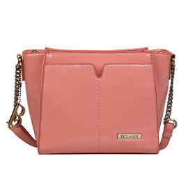 Bulaggi Collection Lily Crossbody Bag in Peach/Coral Colour