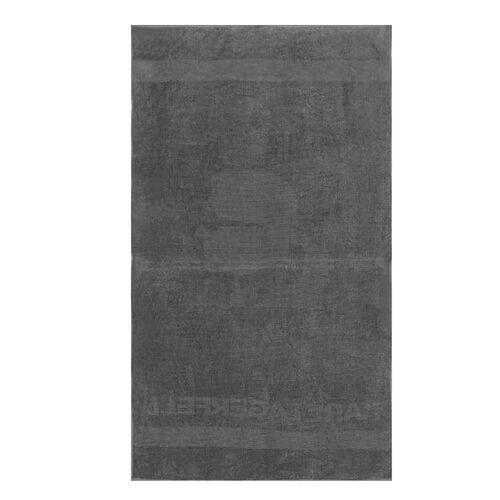 Karl Lagerfeld - Beach Towel With Beach Bag - Grey