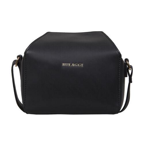 Bulaggi Collection - Bonbon Cute Crossbody Bag with Adjustable Strap (Size 17x12x9cm) - Black