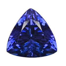 AAAA Tanzanite Trillion 14.71X14.79X14.74X9.56 Faceted 11.69 Ct.