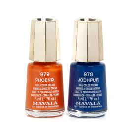 Mavala - Duo Mini Colour - Jodhpur 978 and Phoenix 979