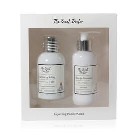 The Scent Doctor: Blackberry & Bay Eau De Pafum - 100ml (With Orange Blossom Body Lotion - 150ml)