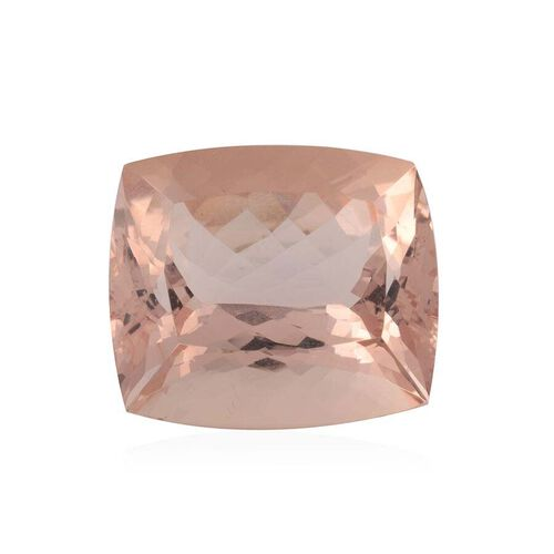 49.84 Ct 4A AAAA Morganite Faceted Cushion IGI Certified
