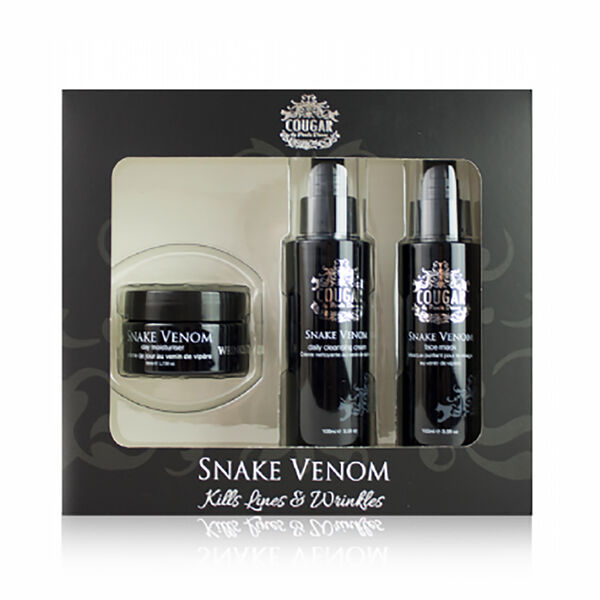 CB and CO Snake Venom Trio Set Incl. Face Mask 100ml,Day Cream 50ml and Cleansing Cream 100ml