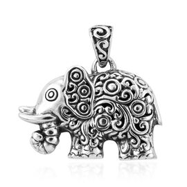 Royal Bali Elephant Pendant in Silver 7.90 Grams