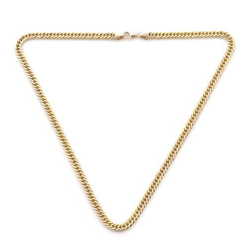 Royal Bali Collection Curb Chain Necklace in 9K Gold 18 Inch