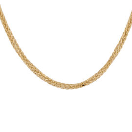 Italian Made - 9K Yellow Gold Spiga Chain (Size 24)