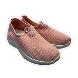 Low-Top Women's Synthetic Upper Shoes - Pink