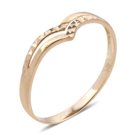 Royal Bali Collection 9K Yellow Gold Ring