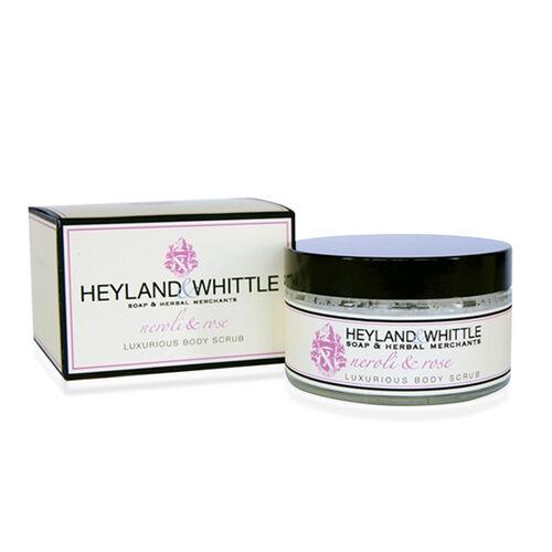 Heyland & Whittle: Neroli & Rose Body Scrub & Body Lotion