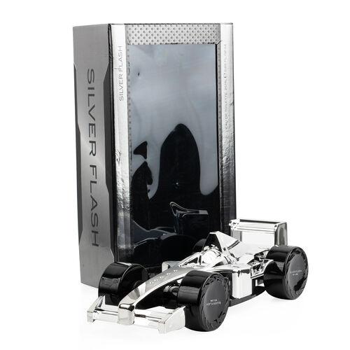Silver Flash: F1 Silver Car (4 Wheels) - 100ml