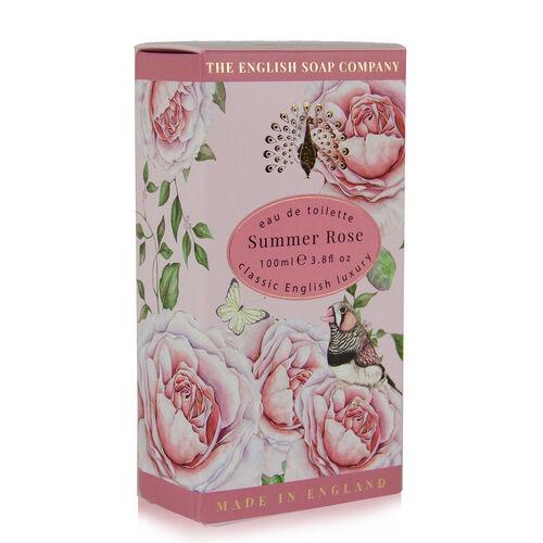 The English Soap Company: Eau De Toilette Spray (Summer Rose) - 100ml