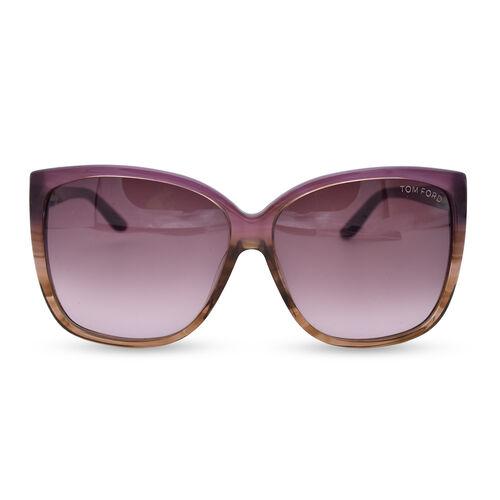 TOM FORD Tort Sunglasses in Purple