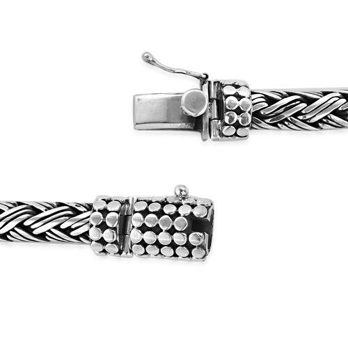 Royal Bali Collection Sterling Silver Striking Bracelet (Size 7), Silver wt 59.00 Gms.