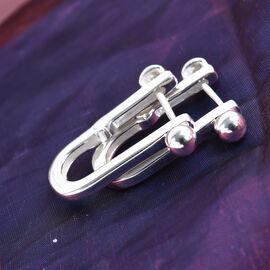 Sterling Silver U-Hoop Earrings