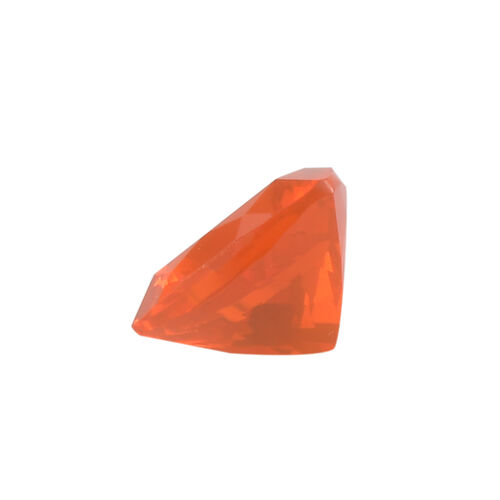 AAAA Fire Opal Trillion 8 Faceted  1.04 Cts