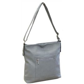 New Season - Super Soft Large Tote Handbag With Adjustable Strap (31 x 28 x 7 Cms) - Blue