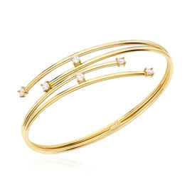 Closeout Deal Italian Made Flexi Torque Bangle in 9K Gold 6.30 Grams