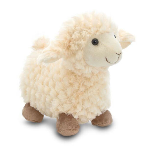 Cream and Chocolate Colour Standing Sheep (Size 30 Cm)