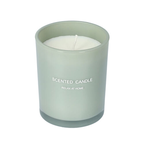The 5th Season - Gift Box Set of Scented Candle and Diffuser - Green (Fragrance Diffuser: Gardenia & Candle: Fresh Spring)