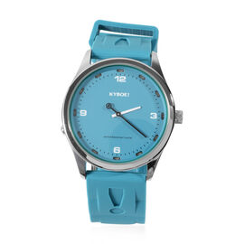 KYBOE Evolve Collection - Tile Blue Slimline 41MM LED Watch- 100M Water Resistance