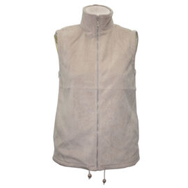 Pure and Natural Stone Colour Fleece Lined Gilet (Size XL, 20-22)